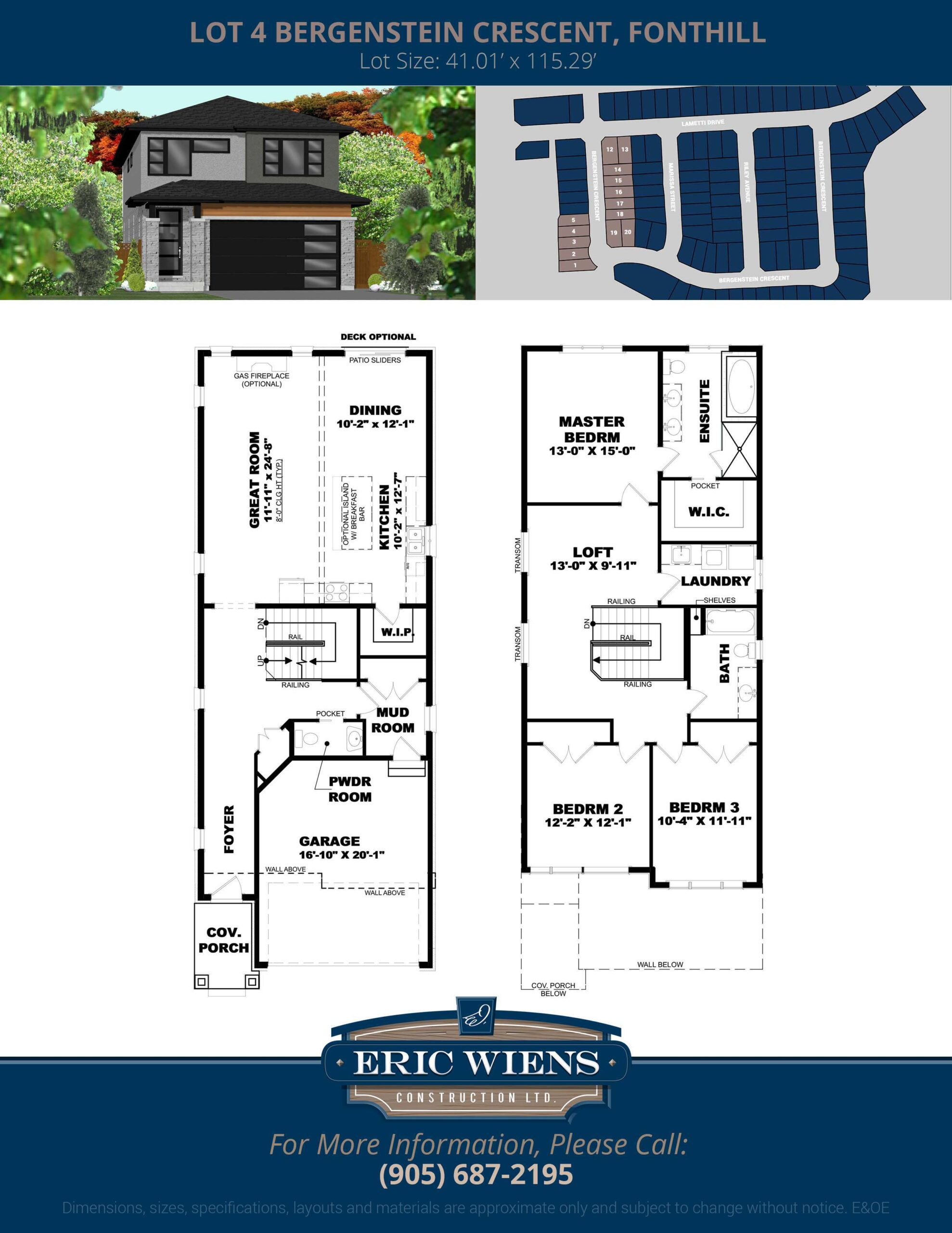 Lot 4 Bergenstein Crescent Floor Plan